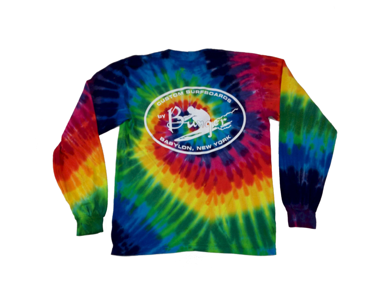 Bunger Kids Tie Dye Long Sleeve Tee