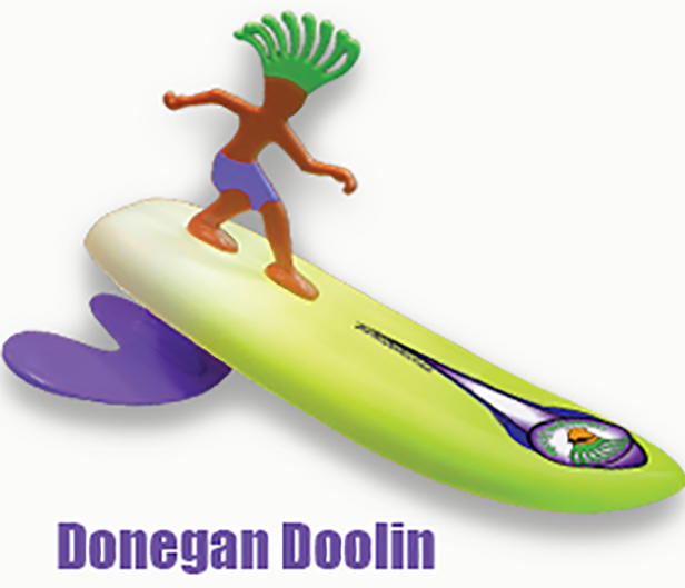 Surfer Dudes Donnegan Doolin