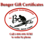 Gift Certificates 250