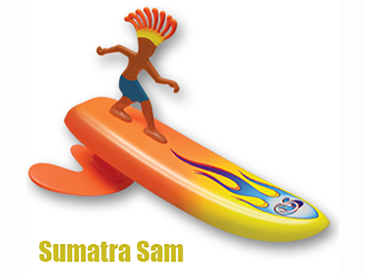 Surfer Dudes Sumantra Sam