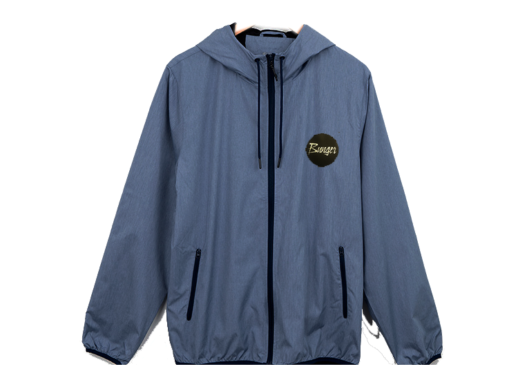 Bunger Hooded Windbreaker