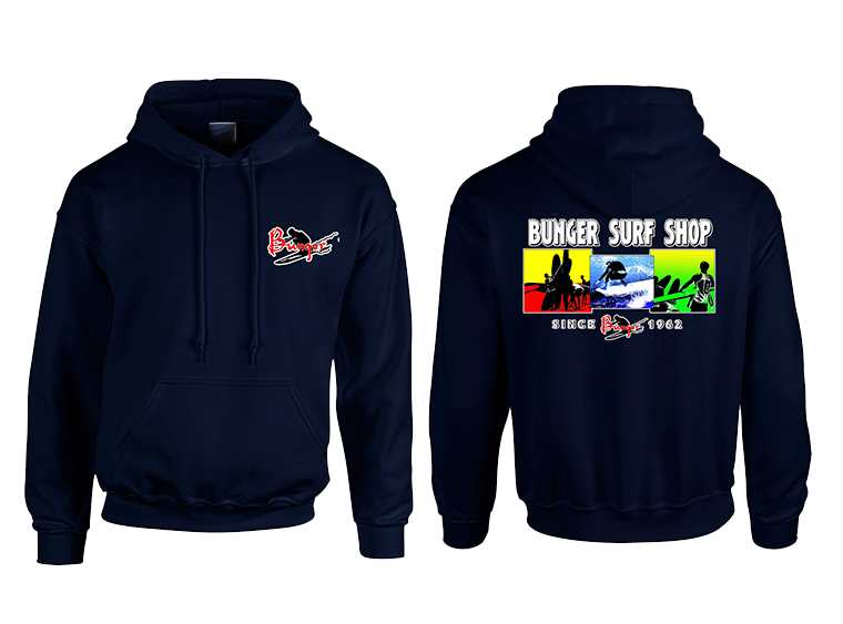Bunger 3 Square Hooded Sweatshirt