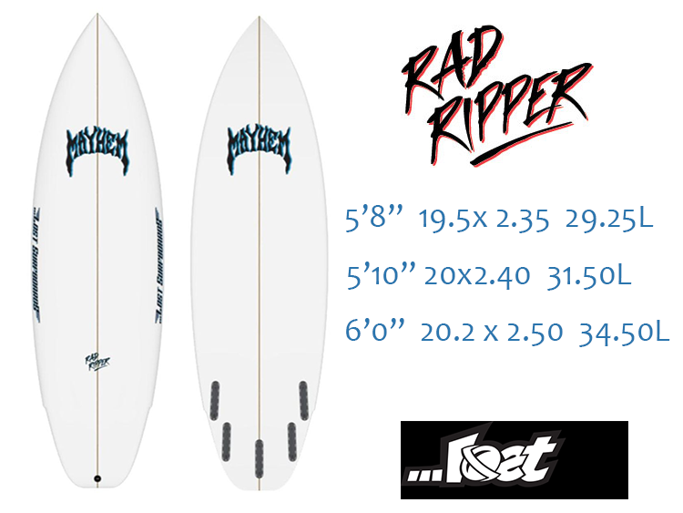 Lost Rad Rippper Surfboard