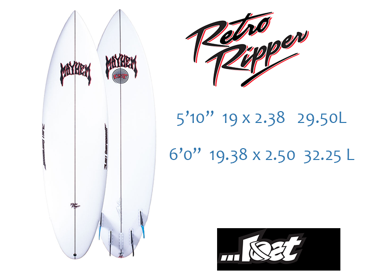 Lost Retro Ripper Surfboard