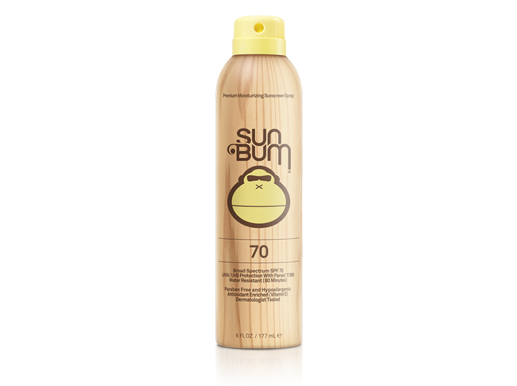Sunbum SPF 70 Original Spray Sunscreen