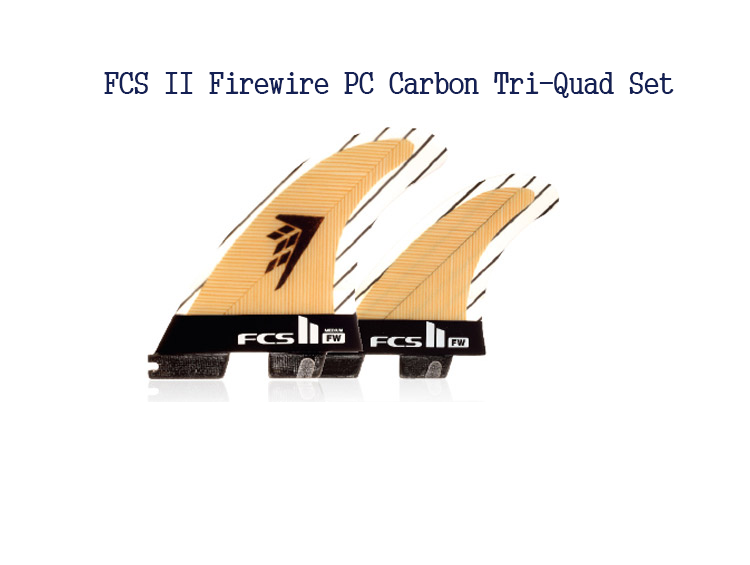 FCS II Fire Wire Tri Quad Set