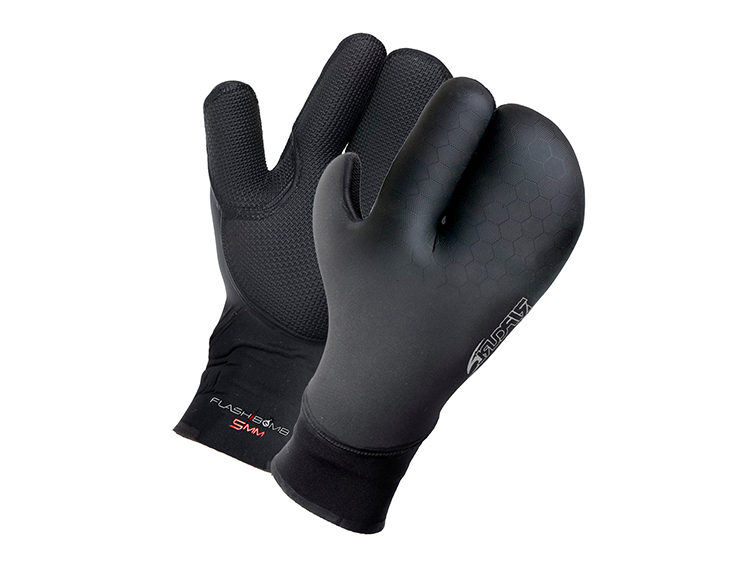Ripcurl 5/3 Flashbomb 3 Finger Gloves
