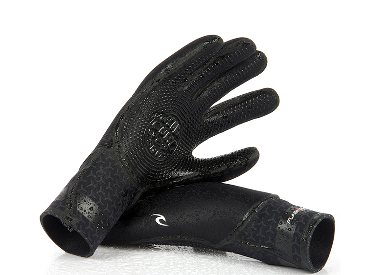 Ripcurl 5/3 Flashbomb 5 Finger Gloves