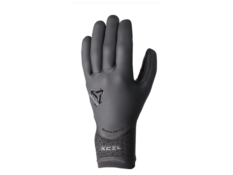 Xcel Drylock 5mm 5 Finger Gloves
